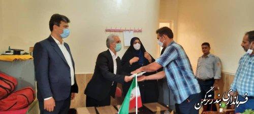 تجلیل فرماندار ترکمن از آتش نشانان شهرستان