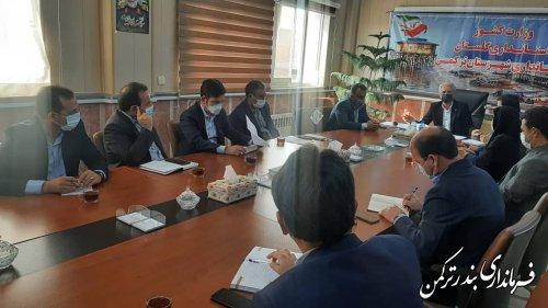پیگیری اعتبارات پرداخت تسهیلات قرض الحسنه روستایی شهرستان ترکمن