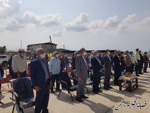 افتتاح آموزشگاه تربیت در روستای هاشمنلی